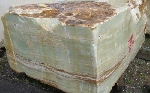 natural green onyx blocks
