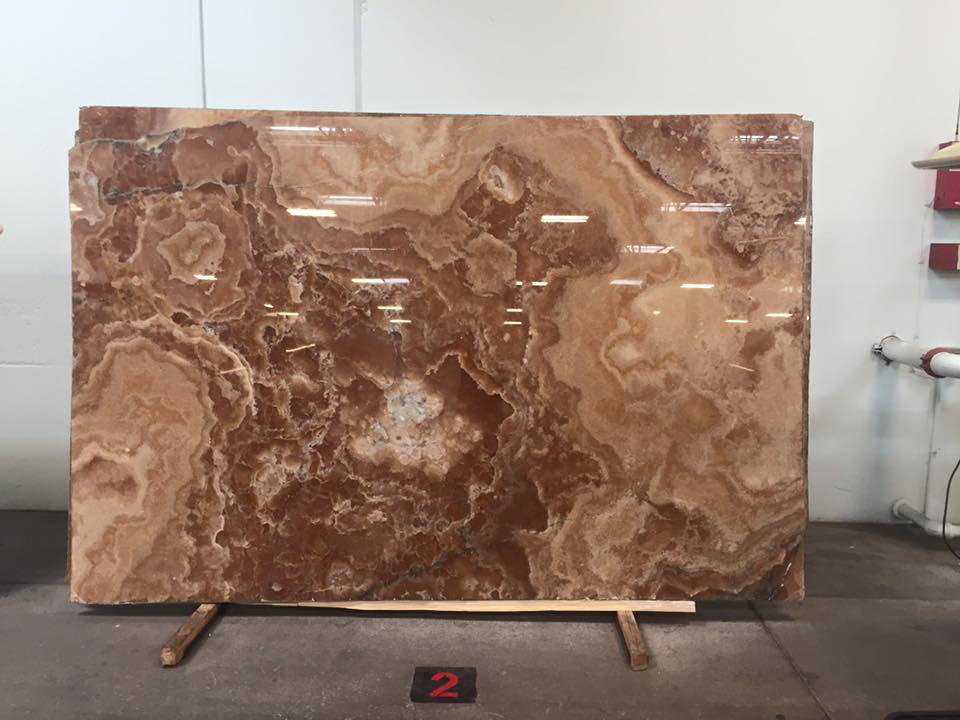 Onyx Ambra Slab Brown Polished Onyx Slabs
