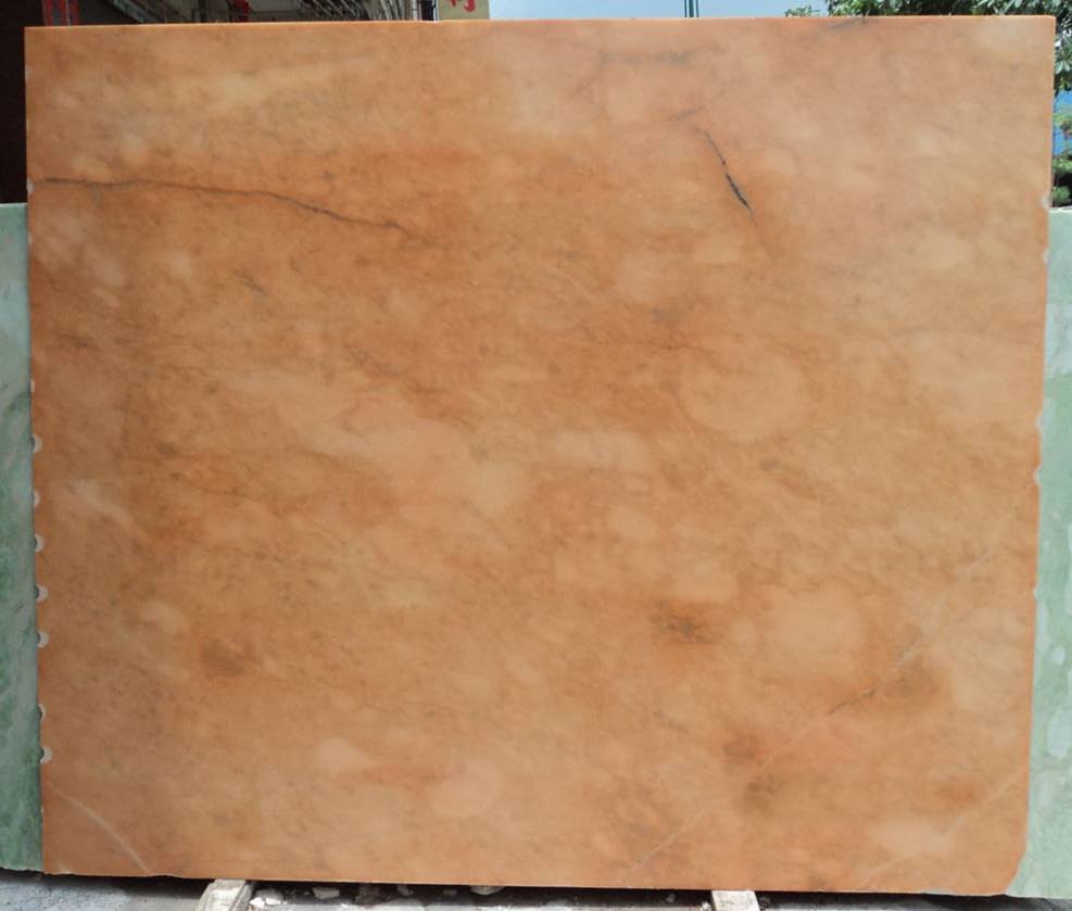 Orange Pink Stone Slab Polished Pink Marble Slabs