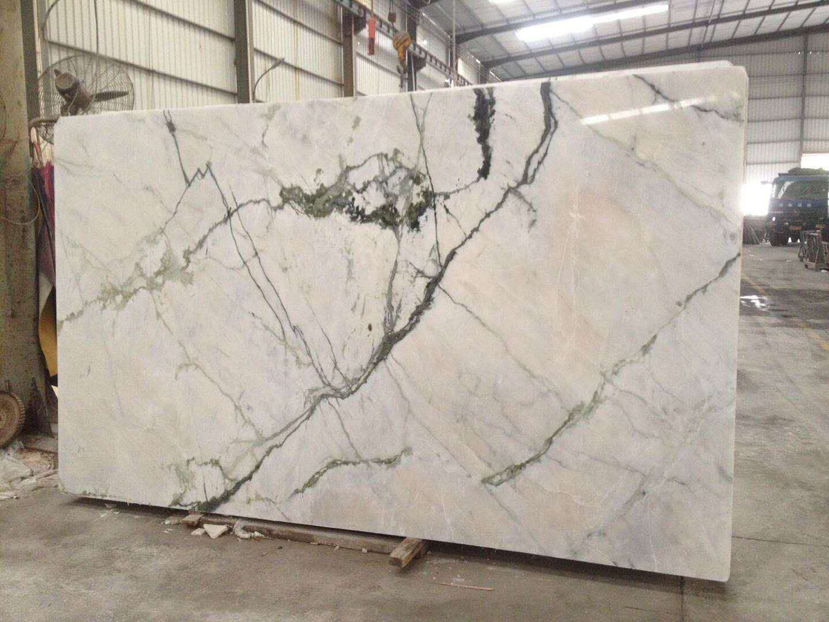 Orchid Jade White Marble Slabs from China Supplier