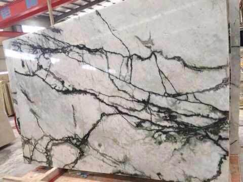 Orchid Jade White Marble Slabs with High Quality