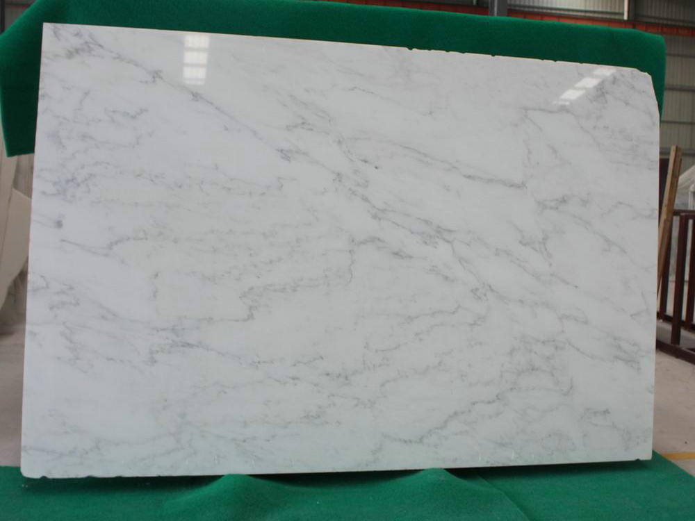 Oriental White Marble Polished Slabs with Top Quality