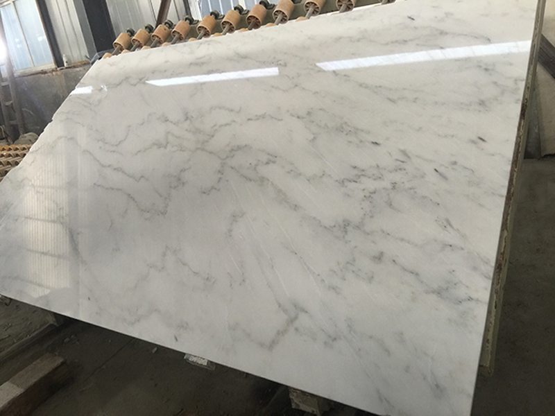 Oriental White Marble Slab Polished White Marble Slabs with Top Quality