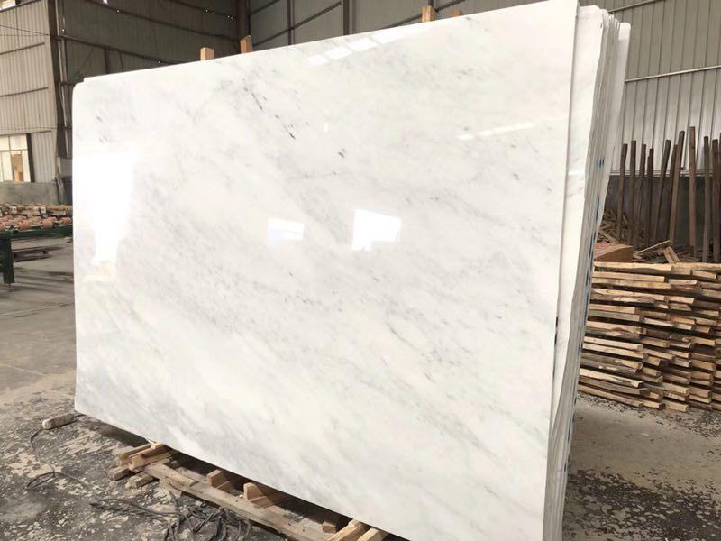 Oriental White Marble Slab