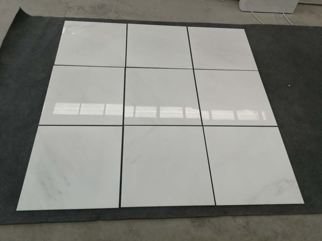 Oriental White Polished Marble Tiles