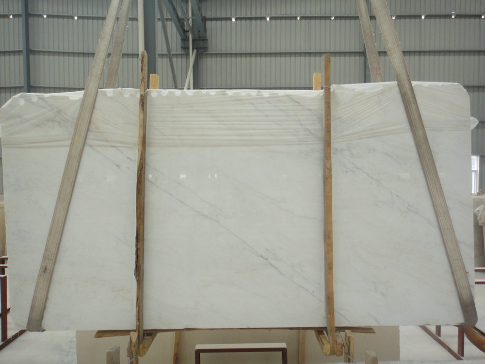 Oriental White Slabs Polished White Marble Slabs