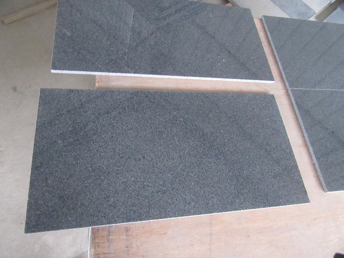 Original G654 Tiles Chinese Black Polished Granite Tiles