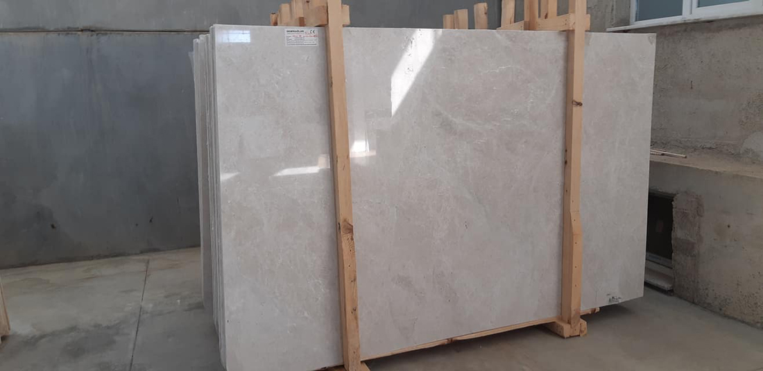 Orion Beige Marble Polished Marble Slabs