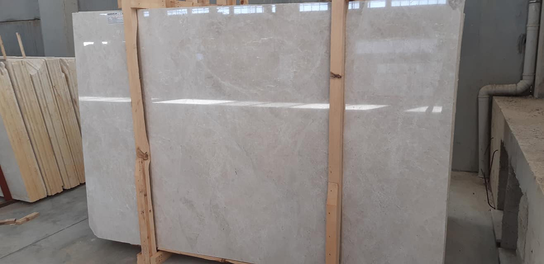 Orion Beige Polished Marble Slabs