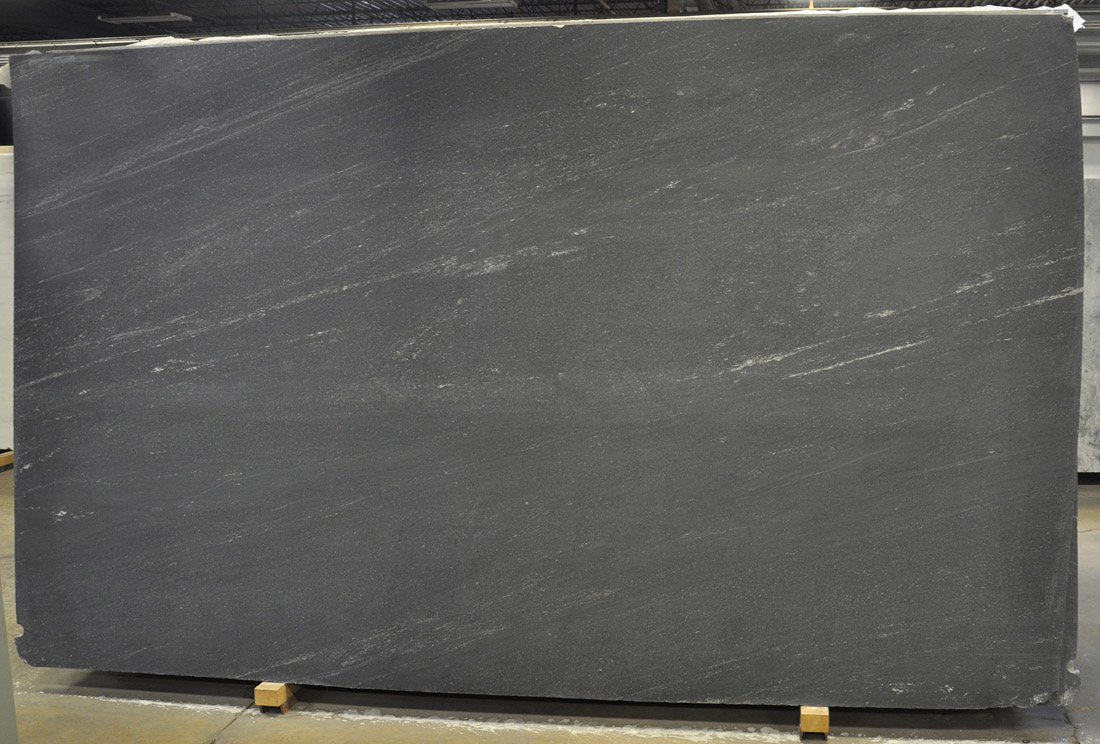 Orion Suede Black Granite Slabs with Competitive Price