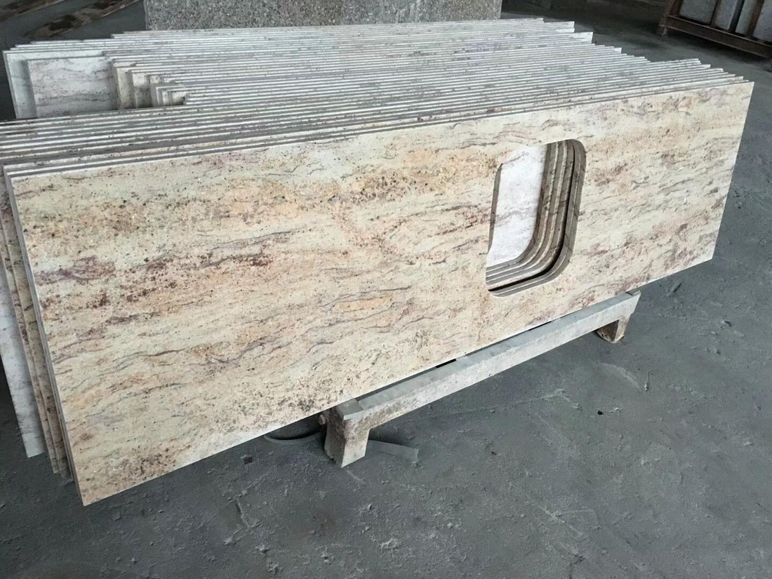 Orlando Gold Granite Kitchen Countertops