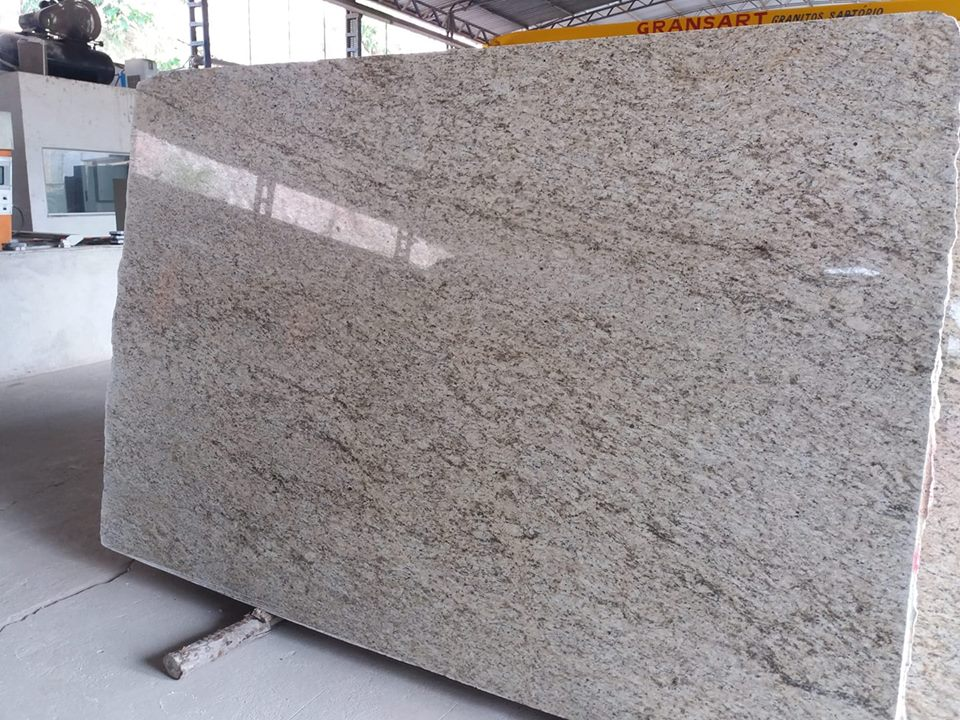 Ornamental Polished Granite Slabs for Kitchen Countertops