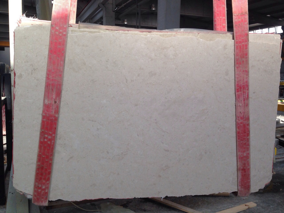 Ottoman Beige Marble Stone Slabs with Competitive Price
