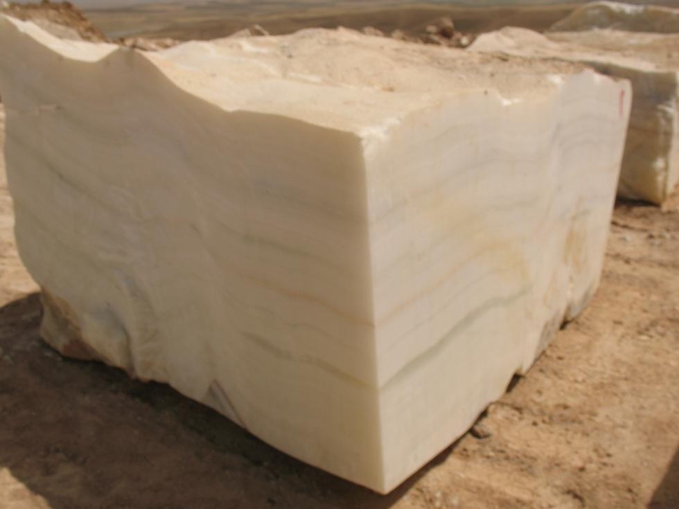 pure white onyx blocks