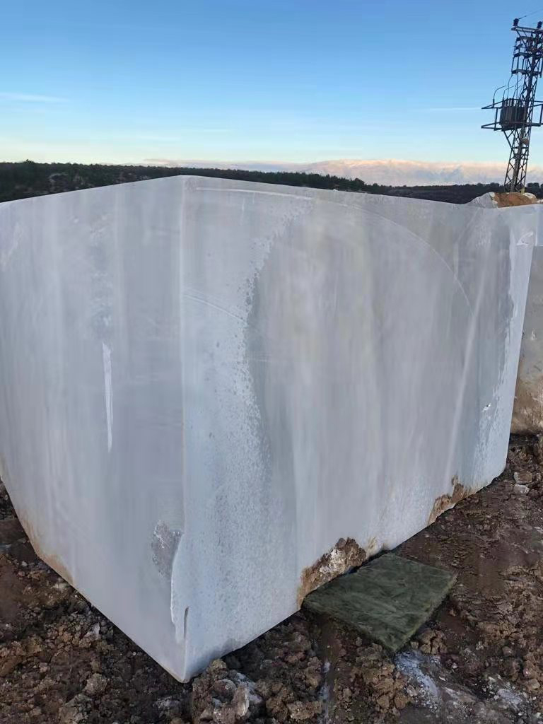 Pacific White Marble Blocks Turkish White Marble Natural Blocks