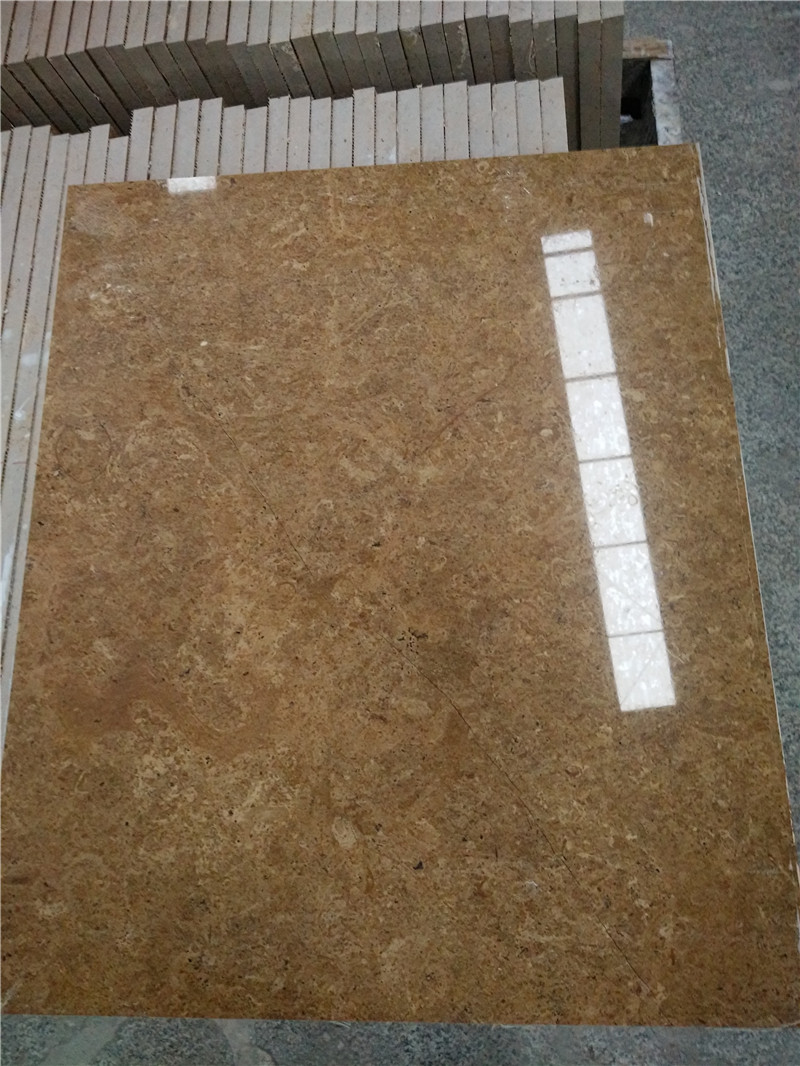 Pakistan Lnous Gold Marble Tiles