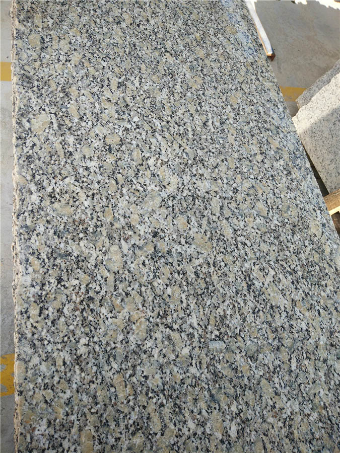 Pale Yellow Granite Countertops for Kitchen Tops