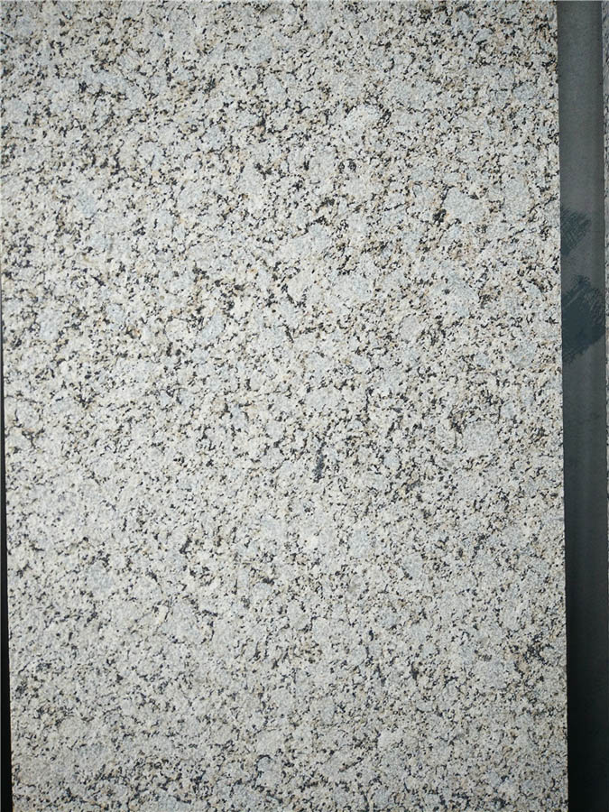 Pale Yellow Granite Flamed Granite Tiles