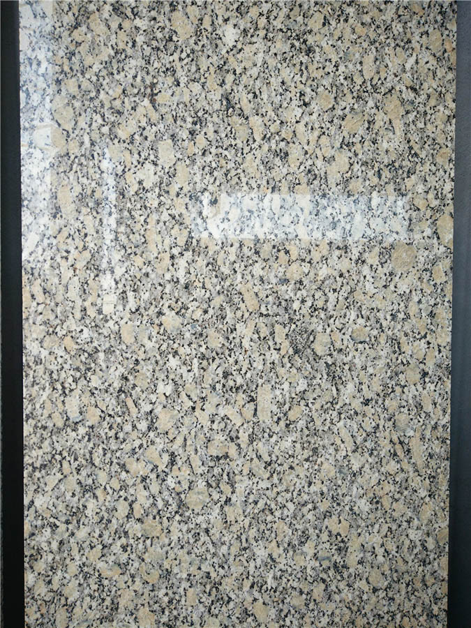 Pale Yellow Granite Polished Tiles Granite Walling Stone