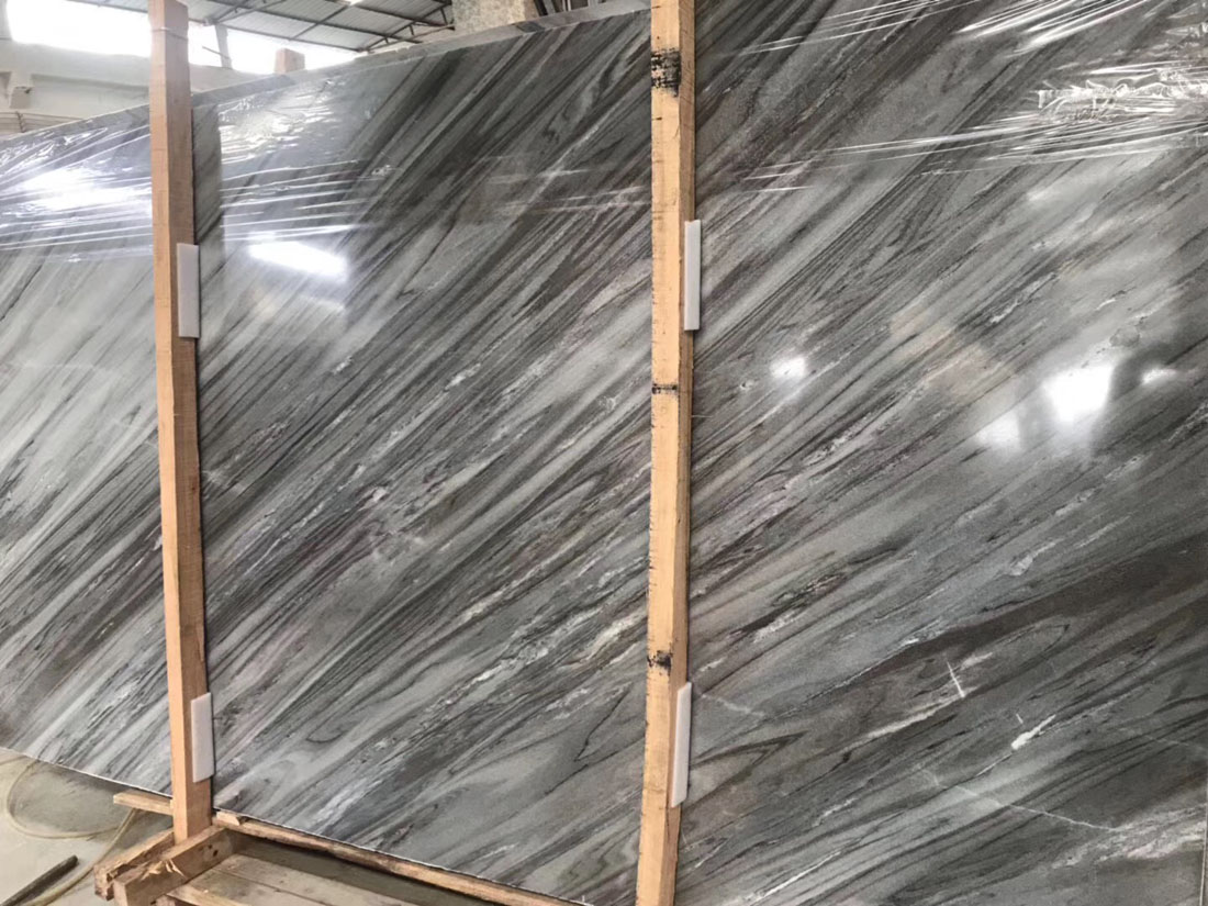 Palissandro Blue Marble Slabs Polished Blue Marble Slabs