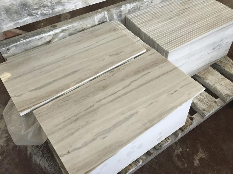 Palissandro Polished Marble Tiles with Top Quality