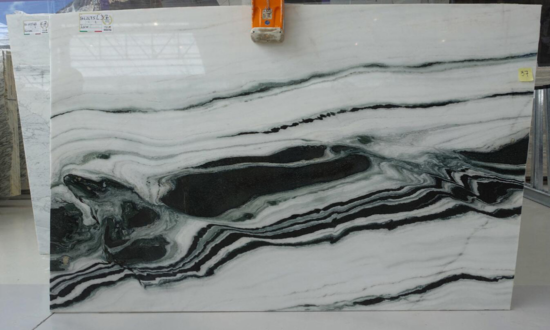 Panda White Marble Slabs Chinese High Quality Marble Slabs