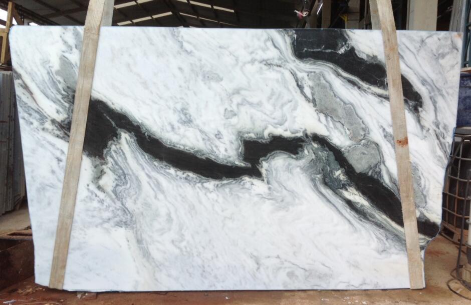 Panda White Marble Slabs Chinese Premium White Marble Slabs