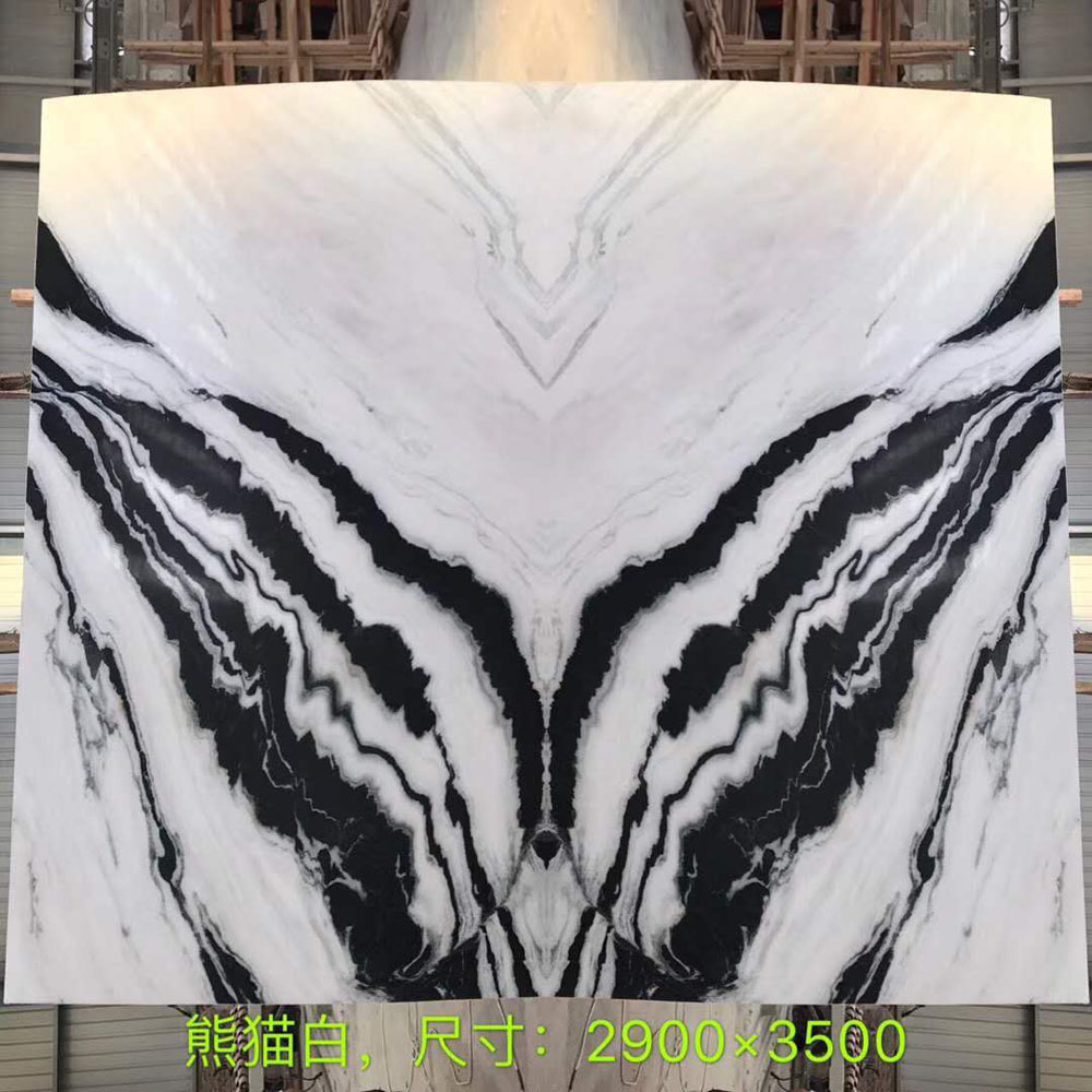 Panda White Marble Slabs from China