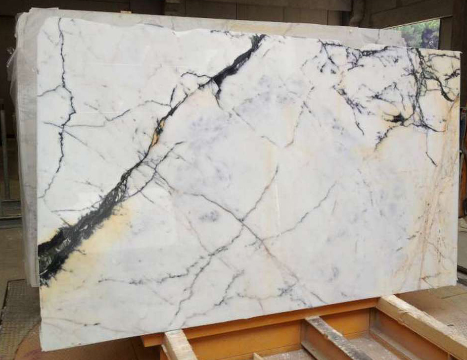 Paonazzo White Marble Slabs White Marble Slabs