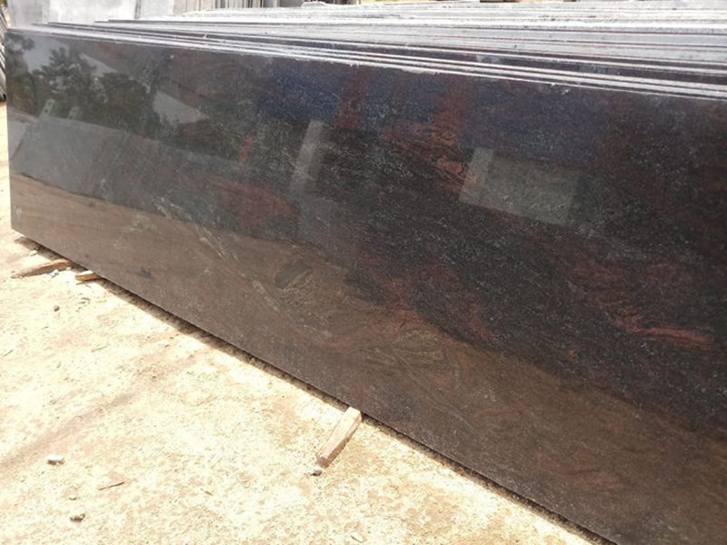 Paradiso Granite Polished Brown Granite Slabs