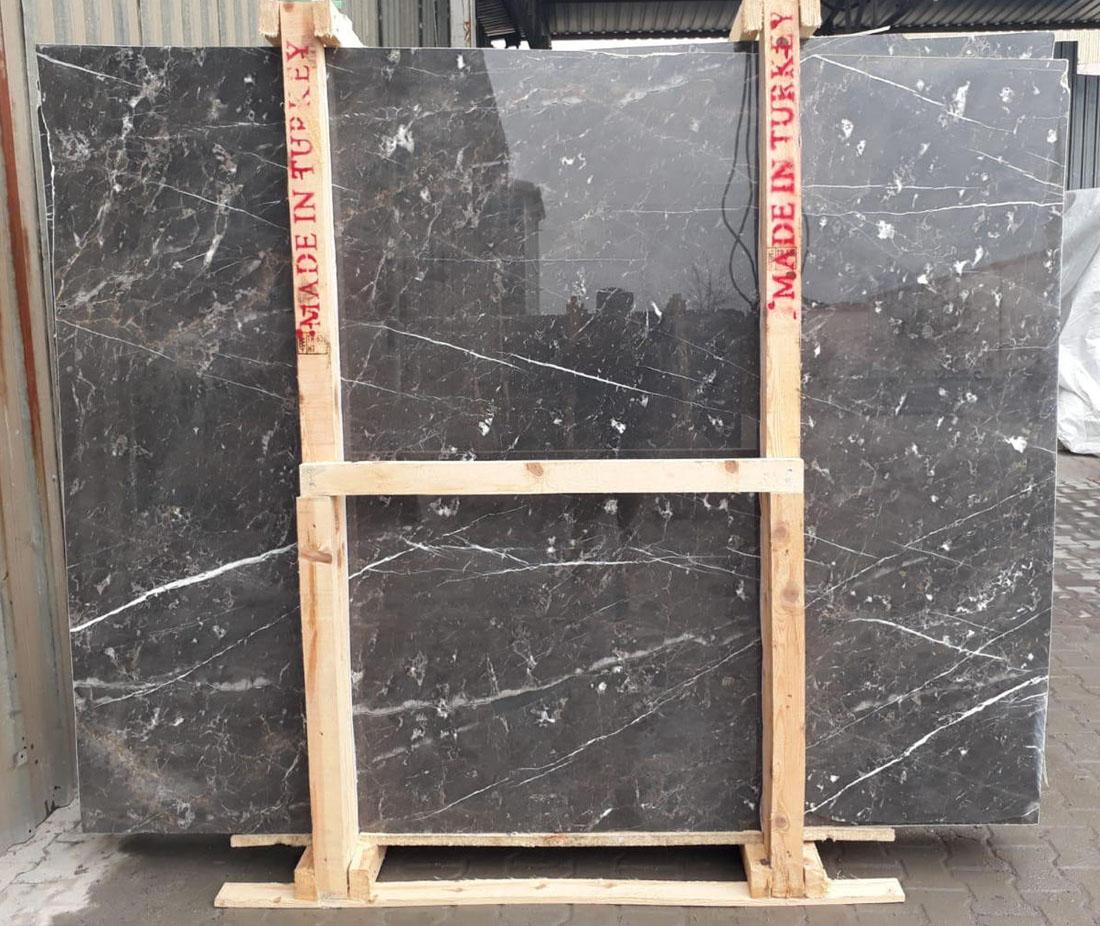 Pascha Grey Marble Polished Grey Marble Slabs