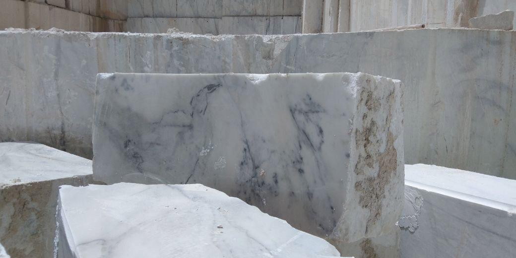 Pasha White Marble Blocks for Export
