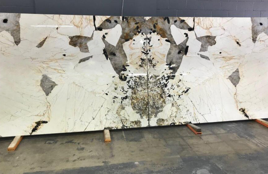 Patagonia Quartzite Slabs Polished Brazil White Quartzite Slabs