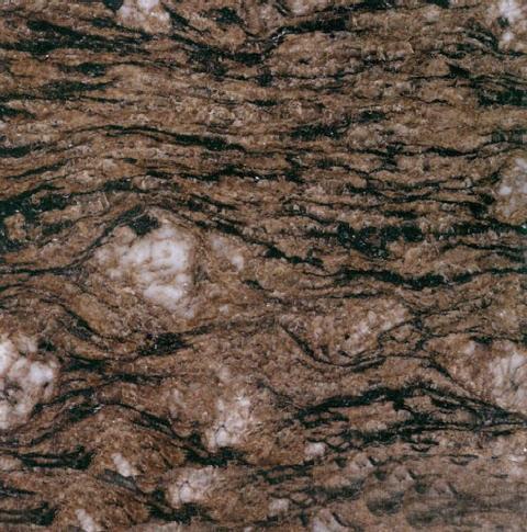 Peafowl Brown Granite