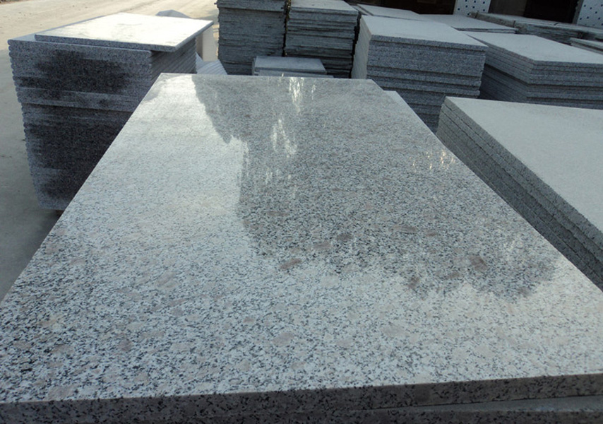 Pearl Flower Granite Tiles Chinese Polished Granite Stone Tiles