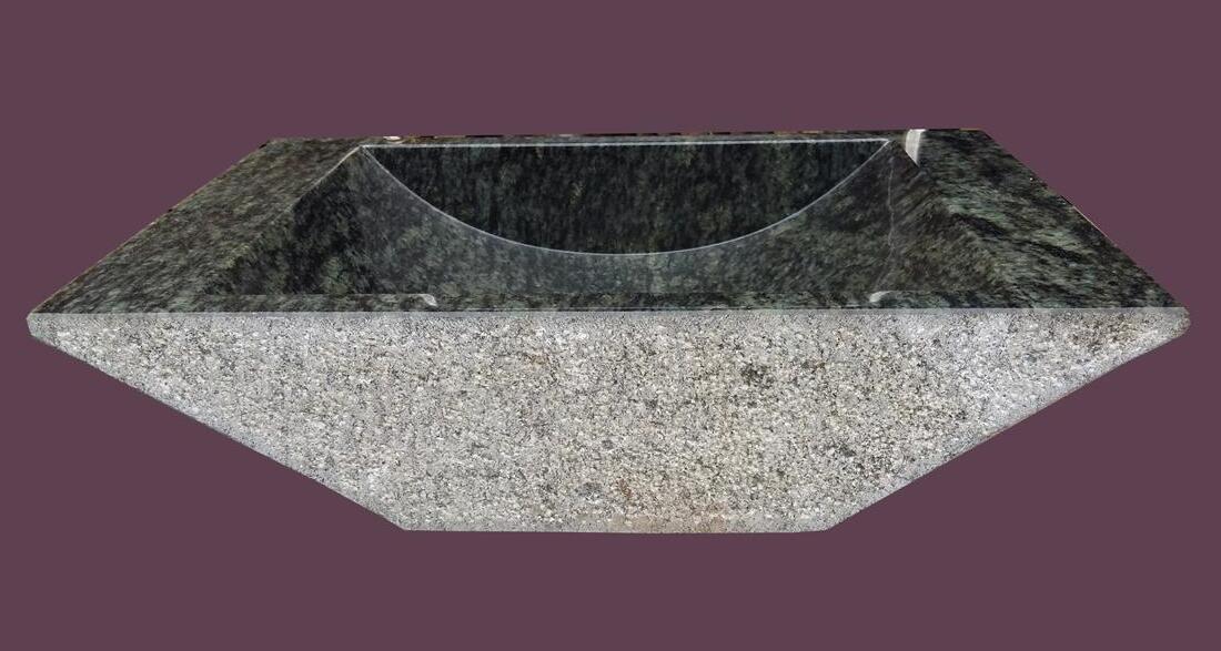 Pecock Green Marble Stone Sinks