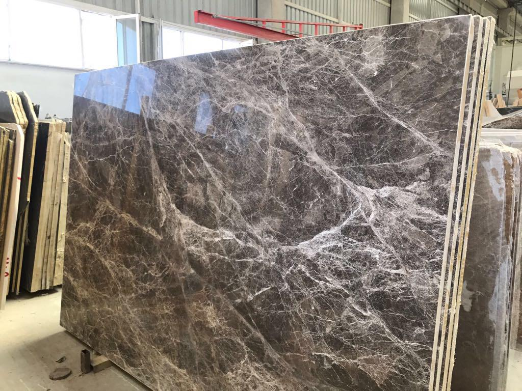 Perfetto Brown Marble Slabs Polished Marble Slabs for Walls
