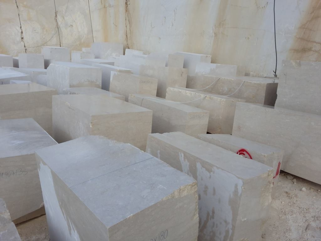 Perlatino Sicilia Blocks Natural Beige Marble Stone Blocks