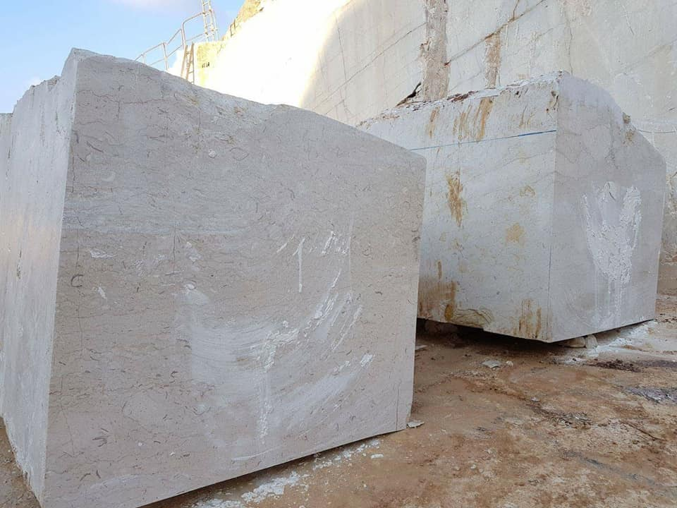 Perlato Sicilia Blocks Beige Marble Natural Stone Blocks