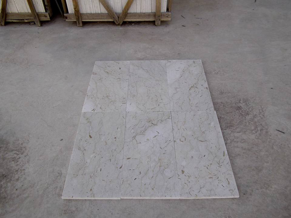 Perlato Sicilia Marble Polished Beige Tiles