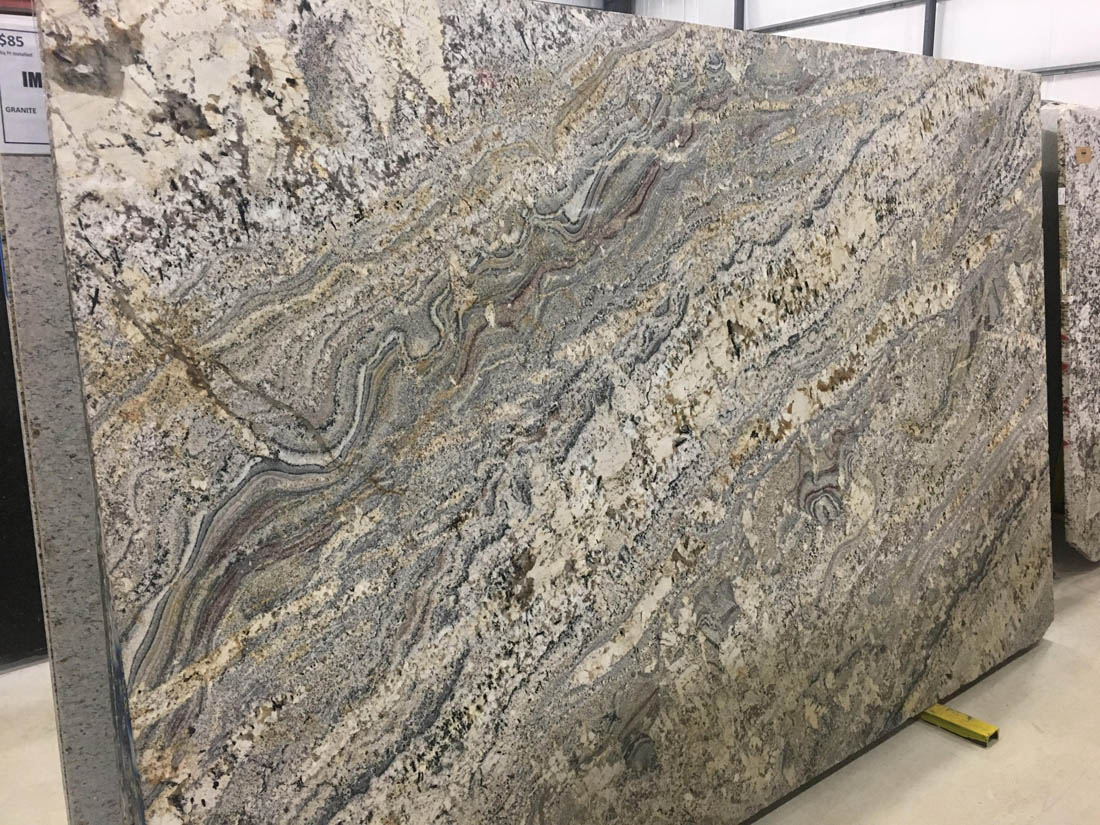 Persian White Granite Slab Brazilian White Granite Slabs