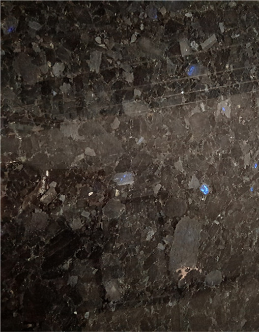 Phantom Blue Granite Color