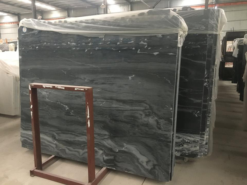 Phantom Gray Marble Polished Marble Slabs