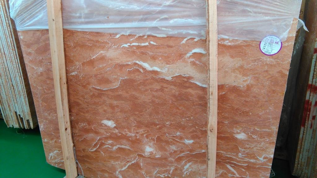 Philippines Tea Rose Marble Slab Red Marble Slabs