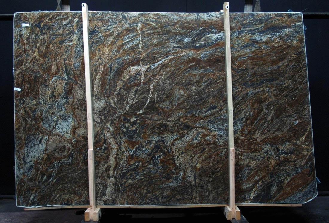 Phoenix Gold Granite Slabs Brazil 3cm Brown Granite Stone Slabs