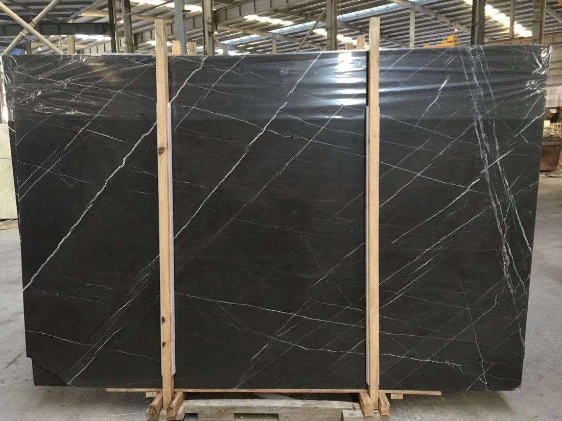 Pietra Grey Marble Polished Marble Slabs