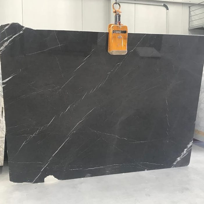 Pietra Grey Marble Slabs with High Quality