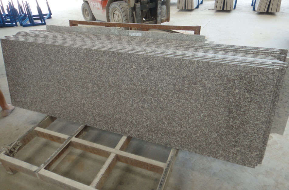 Pink Granite Countertops Polished