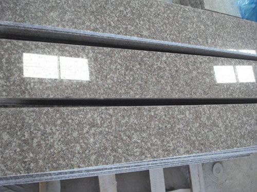 Pink Granite Stone Polished Windowsill