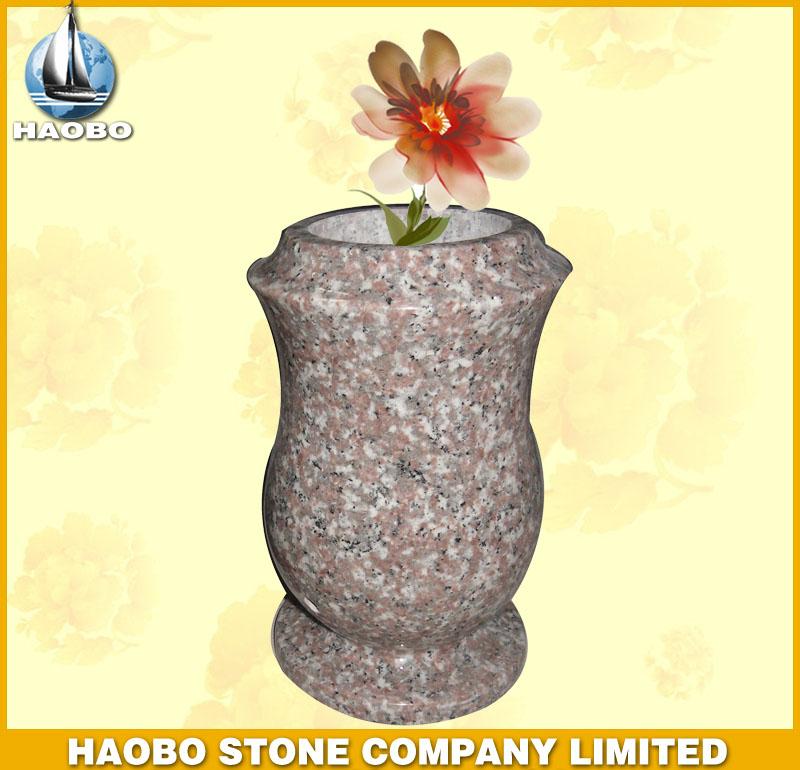 Pink Granite Vase HBV005
